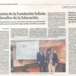 Aparición en La Razón Castilla y León