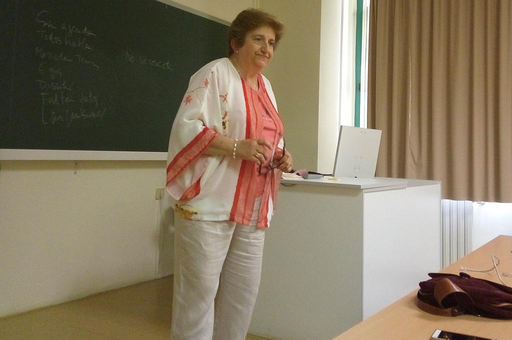 Durante una intervención